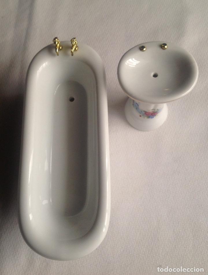 varios accesorios de cuarto baño en porcelana p - Comprar ...