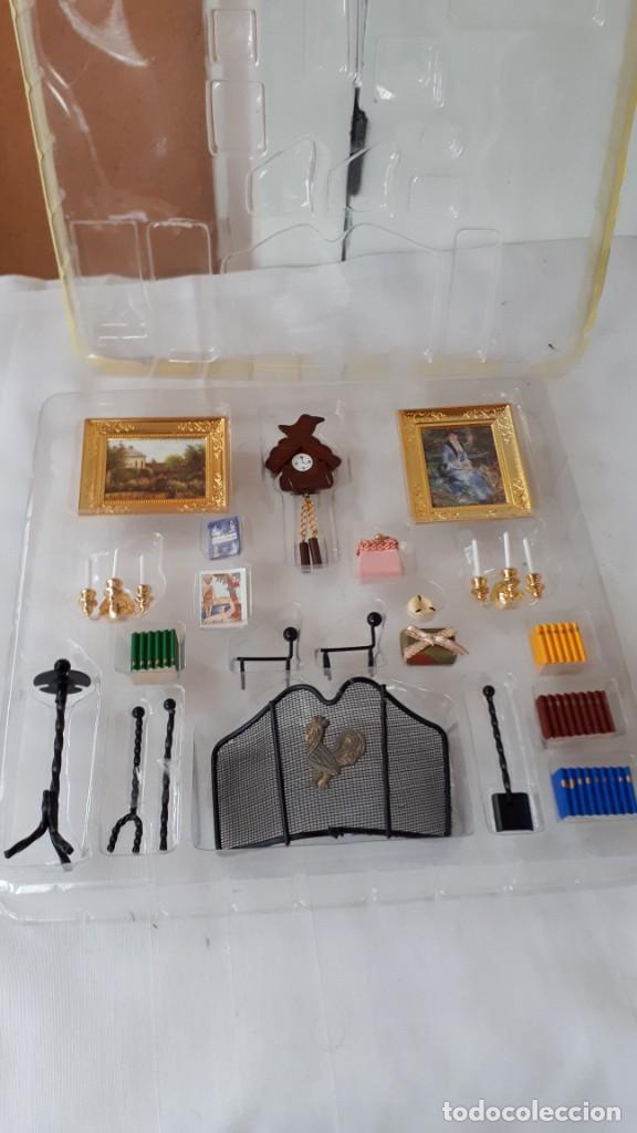 LOTE DE ACCESORIOS CASAS DE MUÑECAS (Juguetes - Casas de Muñecas, mobiliarios y complementos)