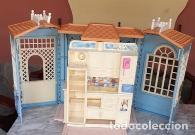 CASA DE MUÑECAS DE MATTEL ITALY 1998 (Juguetes - Casas de Muñecas, mobiliarios y complementos)