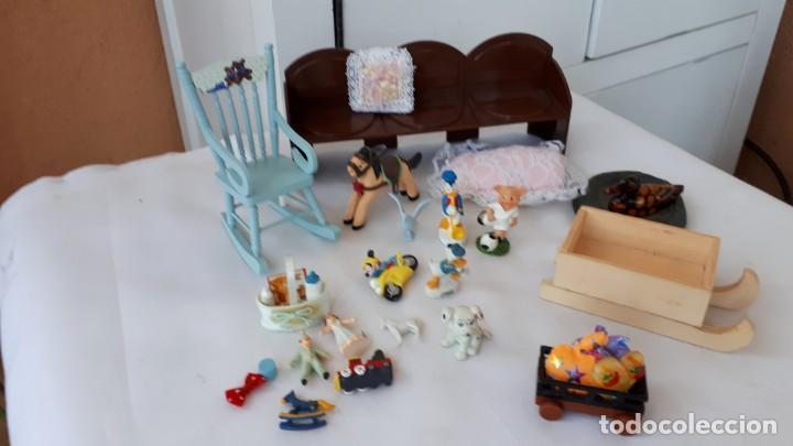 MOBILIARIO Y ACCESORIOS HABITACIO INFANTIL CASAS DE MUÑECAS (Juguetes - Casas de Muñecas, mobiliarios y complementos)