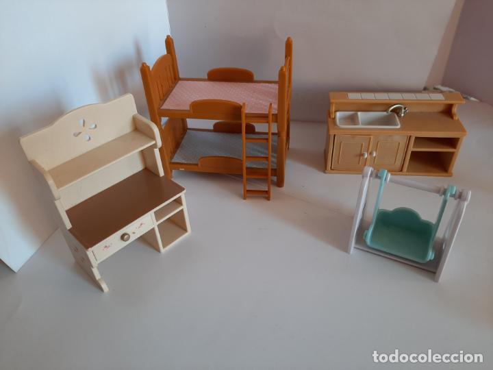 Casas de Muñecas: Sylvanian Families, lote de muebles variados - Foto 5 - 195384406