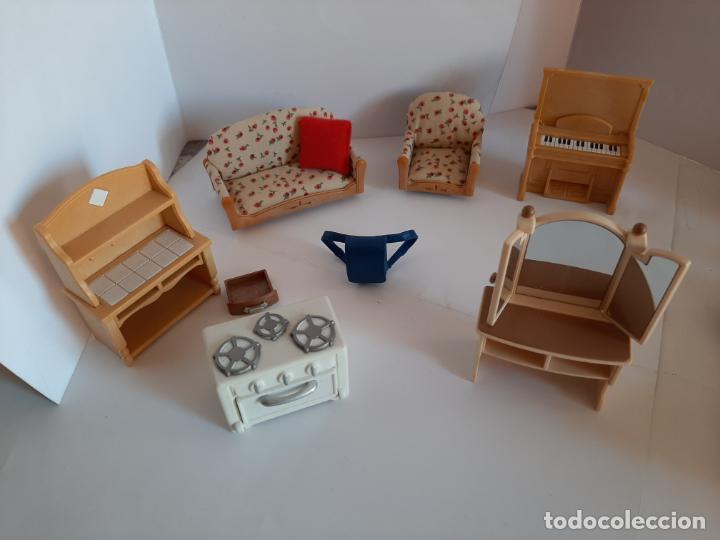 Casas de Muñecas: Sylvanian Families, lote de muebles variados - Foto 6 - 195384406