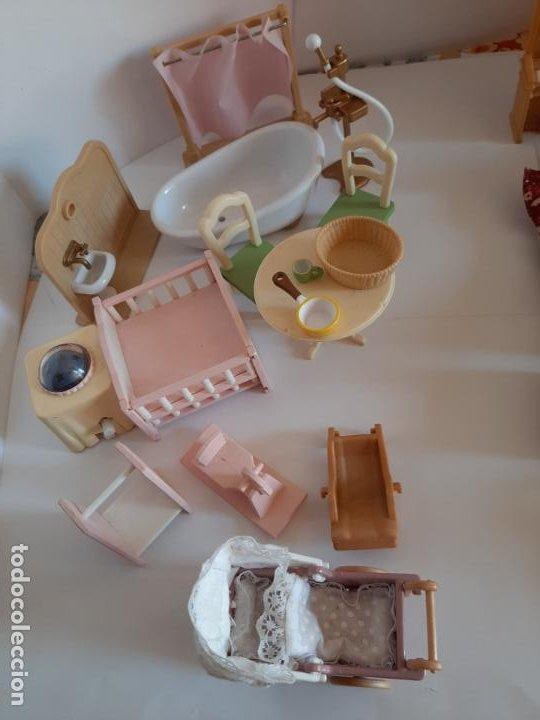 Casas de Muñecas: Sylvanian Families, lote de muebles variados - Foto 7 - 195384406