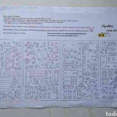 Casas de Muñecas: MUEBLES CASA MADERA DE MUÑECAS ( COMPLETO ). Lote 199064743