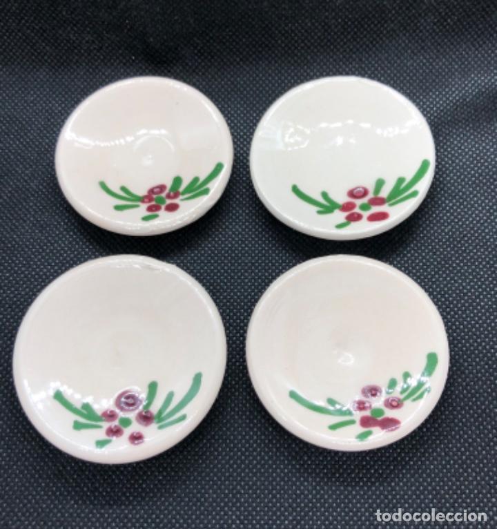 Casas de Muñecas: Juego de vajilla de café 8 piezas - Belén napolitano casa muñecas miniatura cerámica - Foto 6 - 202426553