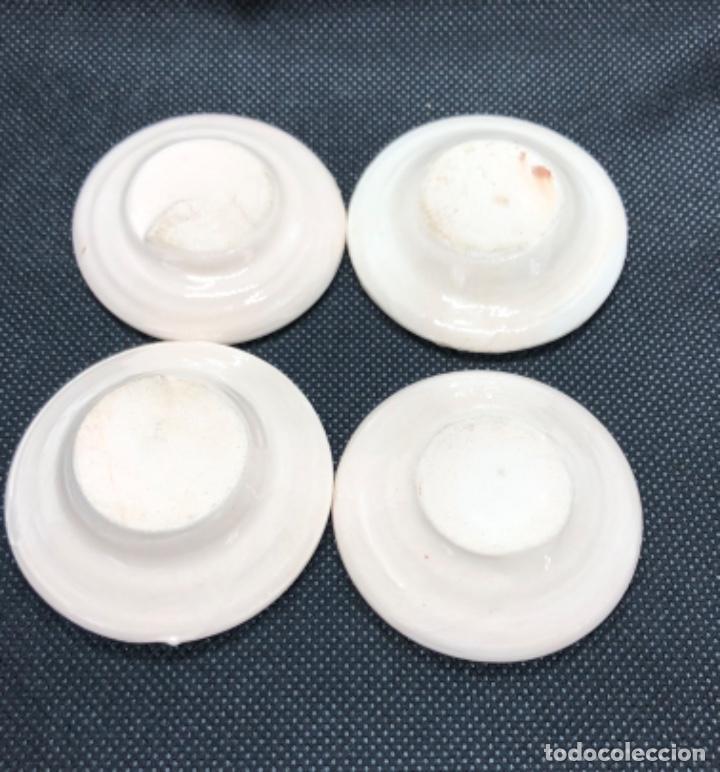 Casas de Muñecas: Juego de vajilla de café 8 piezas - Belén napolitano casa muñecas miniatura cerámica - Foto 7 - 202426553