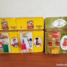 Casas de Muñecas: 3 BLISTER A ESTRENAR LAURA .TOYSE.. Lote 269029114