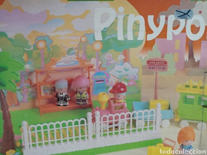 TREN PINYPON PIN PON FAMOSA SIN USAR (Juguetes - Casas de Muñecas, mobiliarios y complementos)