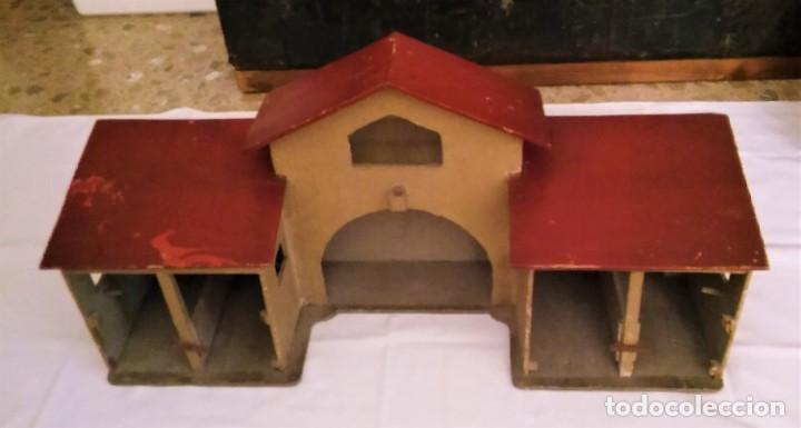 Casas de Muñecas: ESTABLO GRANERO GRANJA DE MADERA, DE CASA DE MUÑECAS, ANTIGUO S XIX - PPS XX - Foto 10 - 209023613