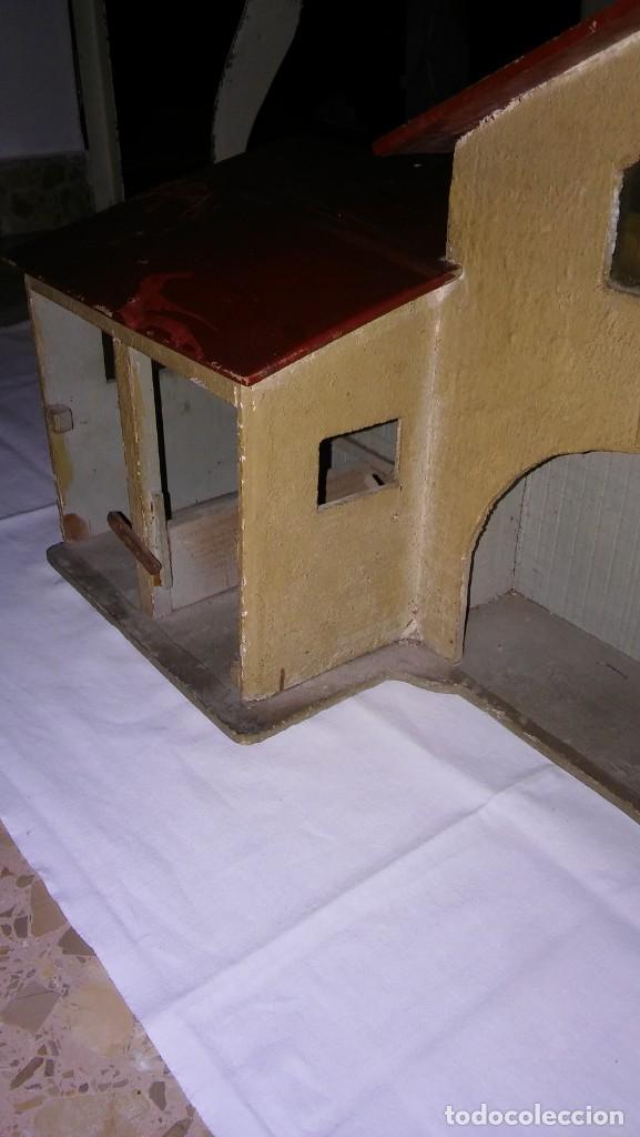 Casas de Muñecas: ESTABLO GRANERO GRANJA DE MADERA, DE CASA DE MUÑECAS, ANTIGUO S XIX - PPS XX - Foto 15 - 209023613