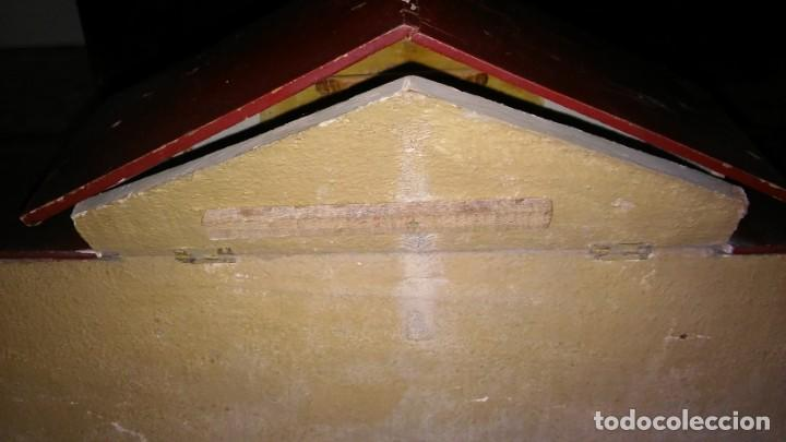 Casas de Muñecas: ESTABLO GRANERO GRANJA DE MADERA, DE CASA DE MUÑECAS, ANTIGUO S XIX - PPS XX - Foto 5 - 209023613