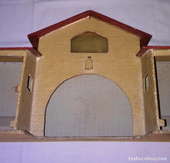 Casas de Muñecas: ESTABLO GRANERO GRANJA DE MADERA, DE CASA DE MUÑECAS, ANTIGUO S XIX - PPS XX - Foto 20 - 209023613