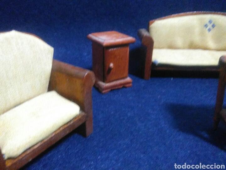 Casas de Muñecas: Lote de muebles de madera para casas de muñecas - Foto 4 - 211909673