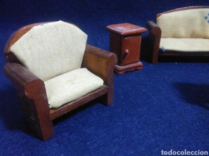 Casas de Muñecas: Lote de muebles de madera para casas de muñecas - Foto 5 - 211909673