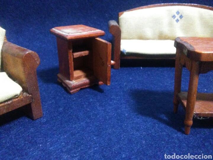 Casas de Muñecas: Lote de muebles de madera para casas de muñecas - Foto 6 - 211909673