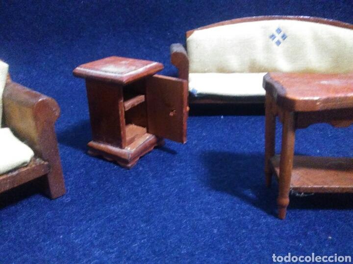 Casas de Muñecas: Lote de muebles de madera para casas de muñecas - Foto 7 - 211909673
