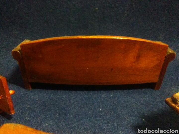Casas de Muñecas: Lote de muebles de madera para casas de muñecas - Foto 11 - 211909673