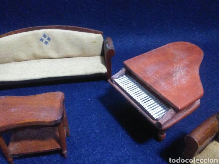 Casas de Muñecas: Lote de muebles de madera para casas de muñecas - Foto 15 - 211909673