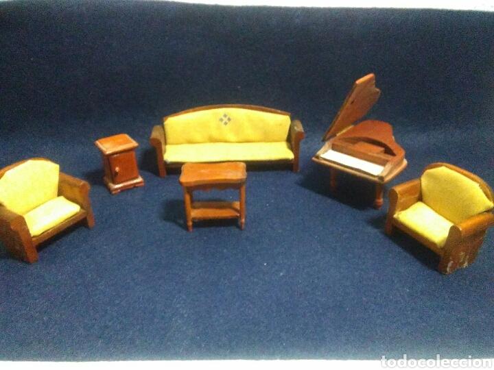 Casas de Muñecas: Lote de muebles de madera para casas de muñecas - Foto 16 - 211909673