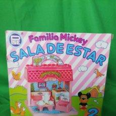 Casas de Muñecas: SALA DE ESTAR MICKEY. PLÁSTICAS SANTA ELENA. Lote 216849503
