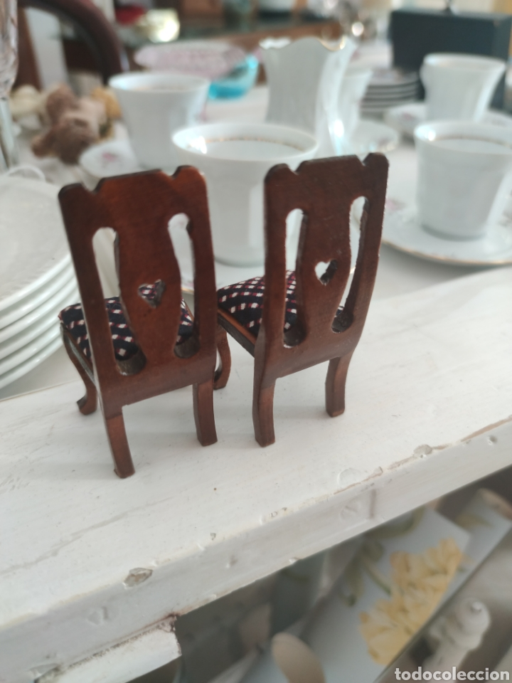 Casas de Muñecas: Dos sillas casa de muñecas - Foto 3 - 216956445