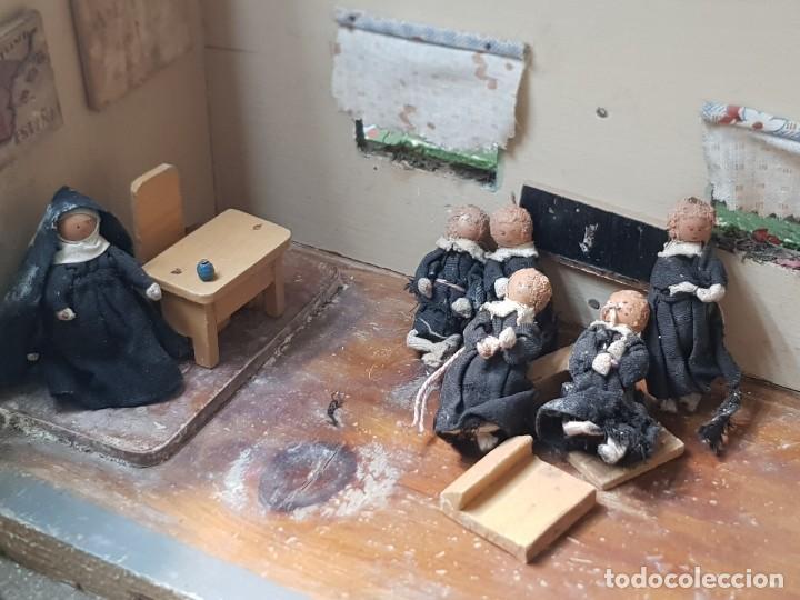 Casas de Muñecas: Colegio Escuela de Monjas de Denia figuras Terracota muy dificil - Foto 5 - 220953423