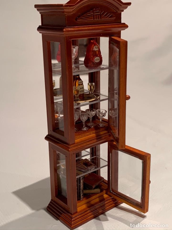 Casas de Muñecas: Mueble bar miniatura de Reutter. Germany. - Foto 4 - 222285845