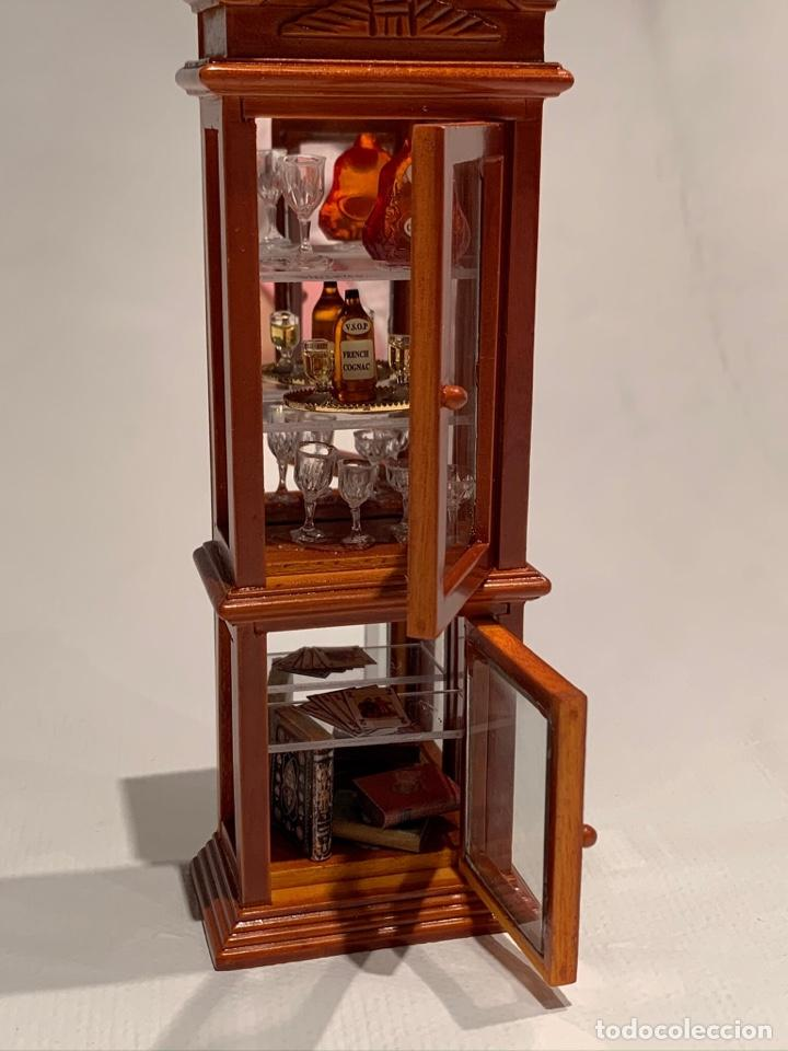 Casas de Muñecas: Mueble bar miniatura de Reutter. Germany. - Foto 5 - 222285845