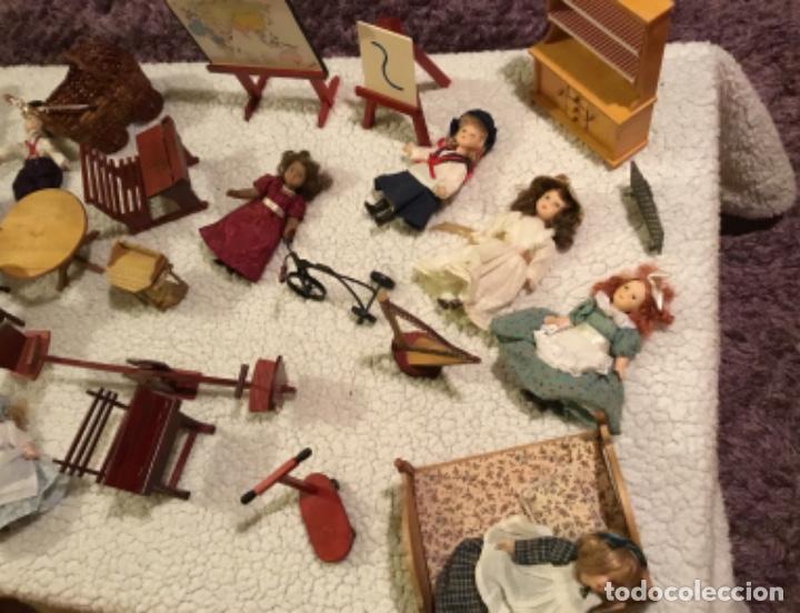 Casas de Muñecas: Lote muñecas de porcelana y complementos - Foto 4 - 222516238