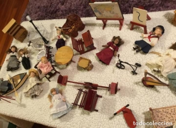 Casas de Muñecas: Lote muñecas de porcelana y complementos - Foto 5 - 222516238