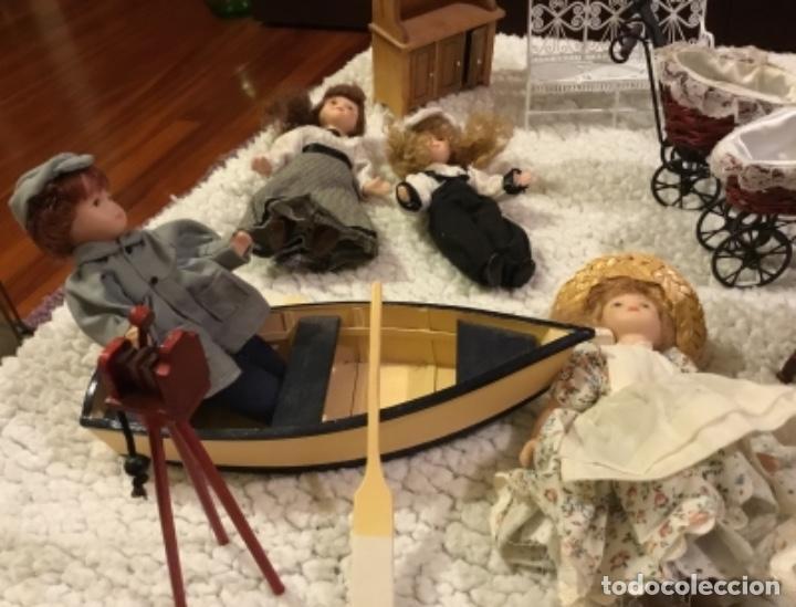 Casas de Muñecas: Lote muñecas de porcelana y complementos - Foto 6 - 222516238