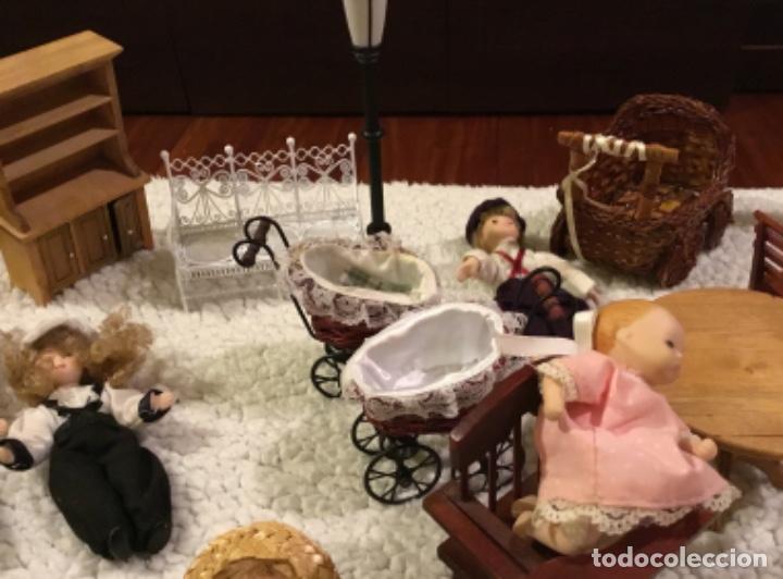 Casas de Muñecas: Lote muñecas de porcelana y complementos - Foto 7 - 222516238