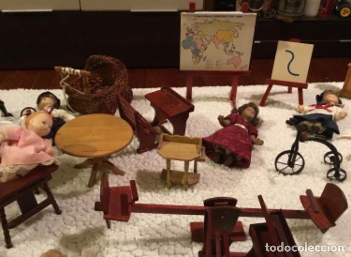 Casas de Muñecas: Lote muñecas de porcelana y complementos - Foto 8 - 222516238
