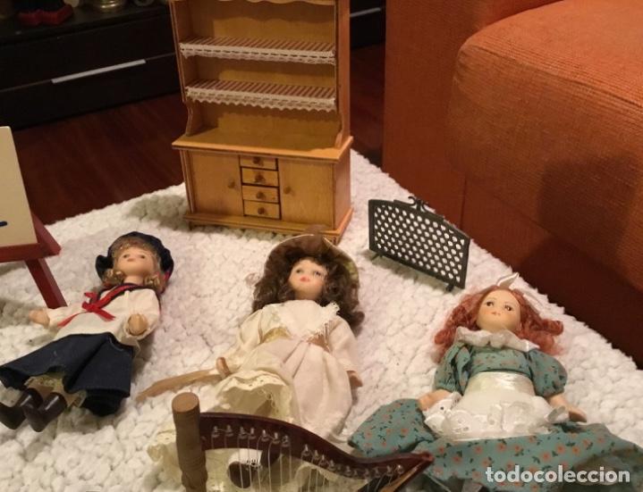 Casas de Muñecas: Lote muñecas de porcelana y complementos - Foto 10 - 222516238