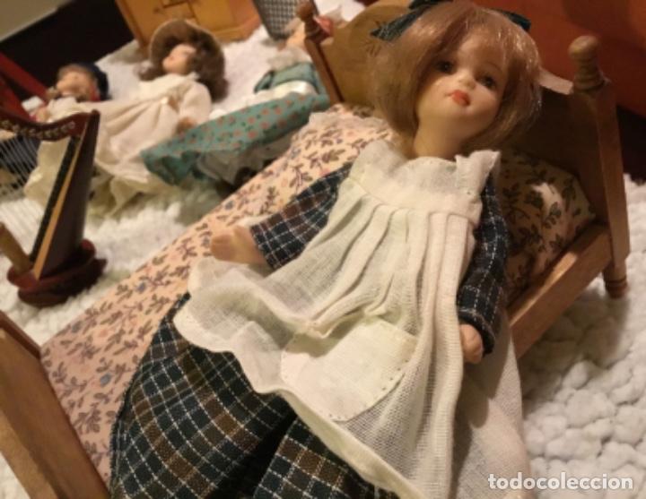 Casas de Muñecas: Lote muñecas de porcelana y complementos - Foto 11 - 222516238