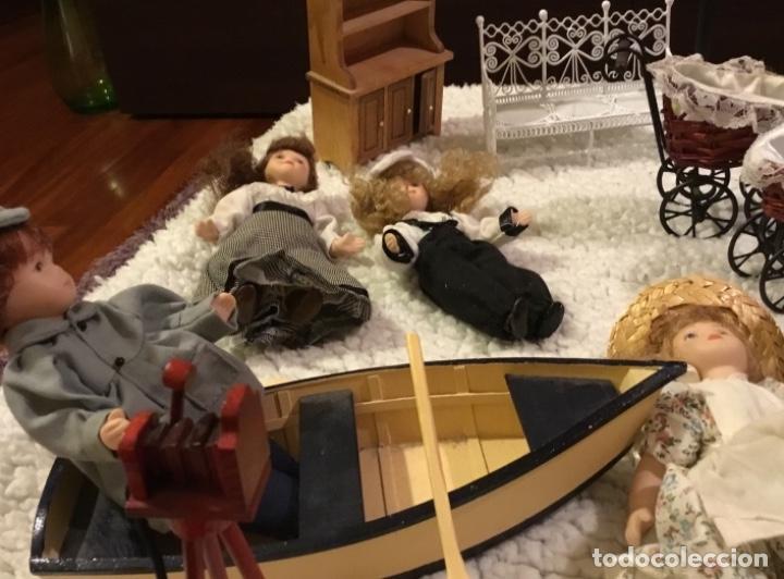 Casas de Muñecas: Lote muñecas de porcelana y complementos - Foto 15 - 222516238