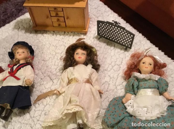Casas de Muñecas: Lote muñecas de porcelana y complementos - Foto 16 - 222516238
