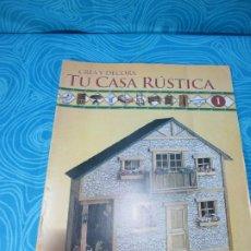 Casas de Muñecas: CONSTRUYE TU CASA RUSTICA, EDITORIAL ALTAYA FASCICULO 1. Lote 222559998