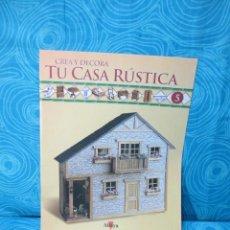 Casas de Muñecas: CONSTRUYE TU CASA RUSTICA,EDITORIAL ALTAYA FASCICULO 5. Lote 222560313