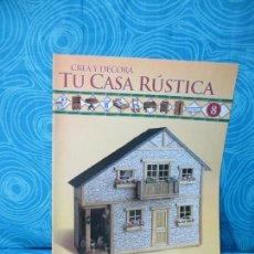 Casas de Muñecas: CONSTRUYE TU CASA RUSTICA,EDITORIAL ALTAYA FASCICULO 8. Lote 222561175
