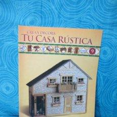 Casas de Muñecas: CONSTRUYE TU CASA RUSTICA,EDITORIAL ALTAYA FASCICULO 9. Lote 222561245