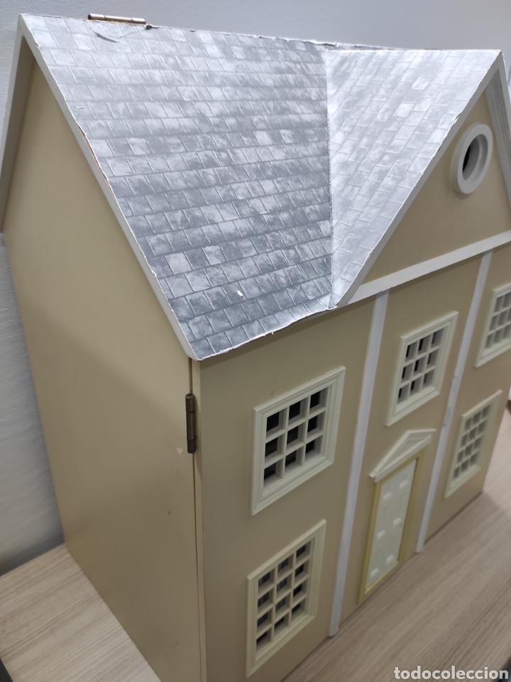 Casas de Muñecas: Casa de muñecas estilo victoriano con mobiliario y muñequitos - Foto 3 - 223619272