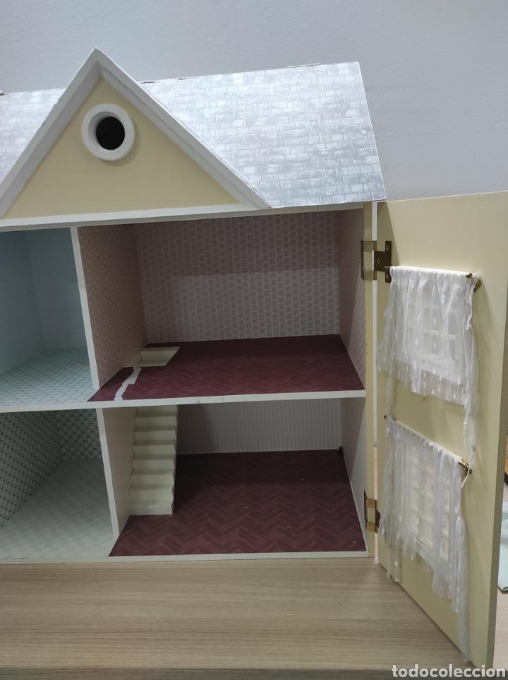 Casas de Muñecas: Casa de muñecas estilo victoriano con mobiliario y muñequitos - Foto 12 - 223619272