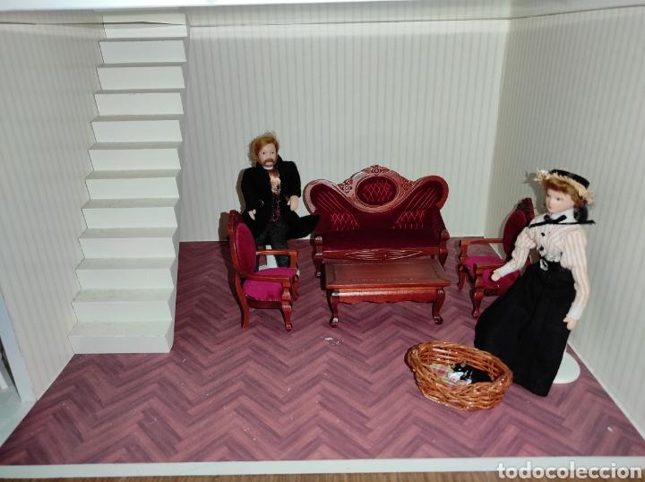 Casas de Muñecas: Casa de muñecas estilo victoriano con mobiliario y muñequitos - Foto 21 - 223619272