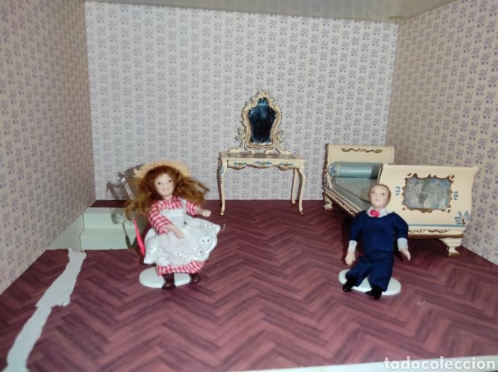 Casas de Muñecas: Casa de muñecas estilo victoriano con mobiliario y muñequitos - Foto 23 - 223619272