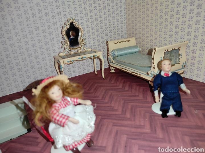 Casas de Muñecas: Casa de muñecas estilo victoriano con mobiliario y muñequitos - Foto 24 - 223619272