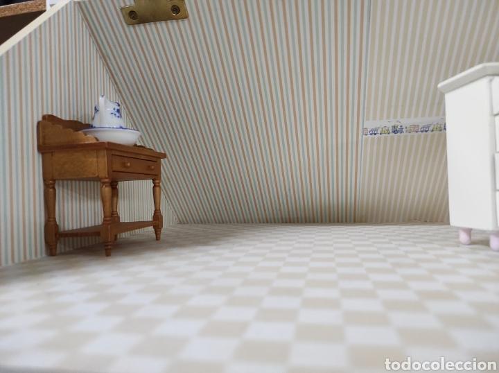 Casas de Muñecas: Casa de muñecas estilo victoriano con mobiliario y muñequitos - Foto 28 - 223619272