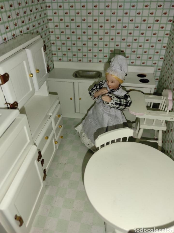 Casas de Muñecas: Casa de muñecas estilo victoriano con mobiliario y muñequitos - Foto 31 - 223619272