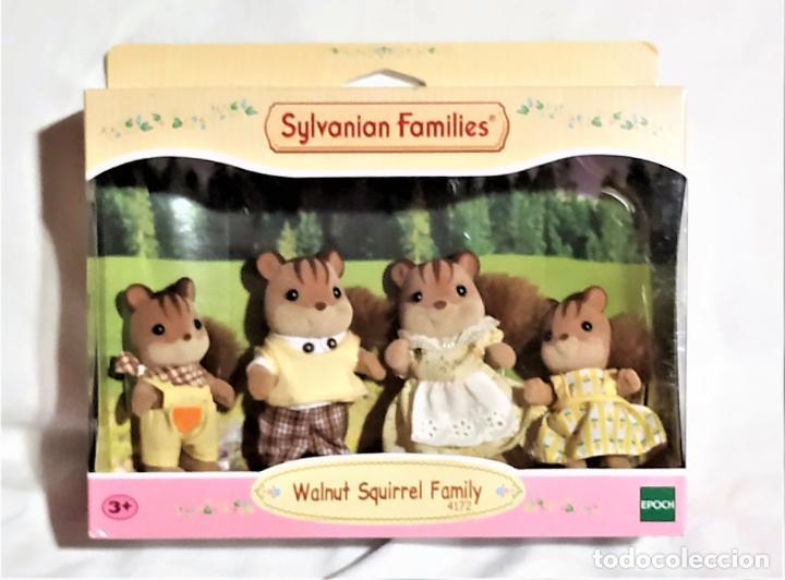 SYLVANIAN FAMILIES - FAMILIA DE ARDILLAS REF. 4172 - A ESTRENAR (Juguetes - Casas de Muñecas, mobiliarios y complementos)