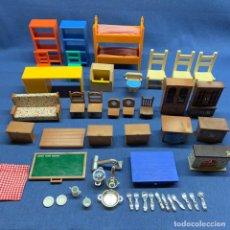 Casas de Muñecas: LOTE DE MUEBLES IKEA Y MAPLE TOWN STORY. Lote 226767670